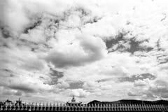 Tempel van Tibetaans Boeddhisme Royalty-vrije Stock Afbeeldingen