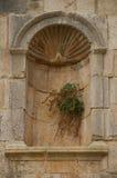 Tempel van Zeus, Jerash Stock Foto's