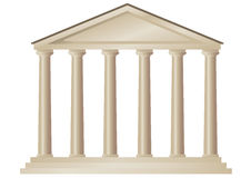 Tempel (vector) Royalty-vrije Stock Afbeelding