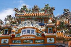 tempel vietnam Arkivfoton