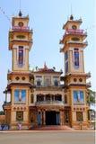 Tempel in Vietnam Royalty-vrije Stock Afbeelding