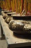 tempel vietnam för saigon för minh för chistadsho Arkivbild