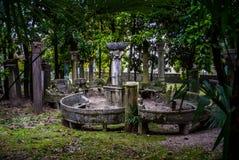 Tempel in Vittoriale, Italië Stock Afbeeldingen