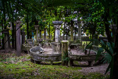 Tempel in Vittoriale, Italien stockbilder