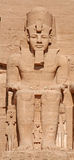 Tempel von Abu Simbel Stockfotos