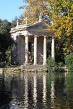 Tempel von Aesculapius Lizenzfreie Stockbilder