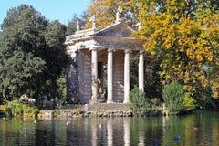 Tempel von Aesculapius Stockfoto