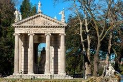 Tempel von Aesculapius Stockbilder