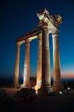 Tempel von Apollo Stockfotos