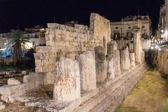 Tempel von Apollo Lizenzfreies Stockbild