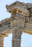 Tempel von Apollo Alte Ruinen in der Seite Lizenzfreies Stockbild