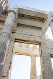 Tempel von Athena Nike-Abschluss oben Stockfoto