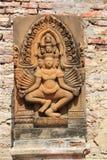 Tempel von Ayuthaya, Thailand Lizenzfreies Stockbild