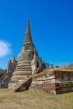 Tempel von Ayutthaya historisch stockfoto