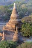 Tempel von Bagan 7 Stockfotos