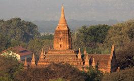 Tempel von Bagan 6 Stockfotografie