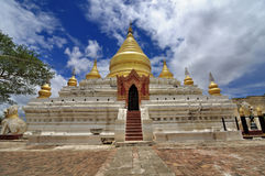 Tempel von Bagan Myanmar Lizenzfreie Stockbilder