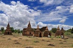 Tempel von Bagan Myanmar Stockfoto