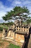 Tempel von Bagan Myanmar Stockbild