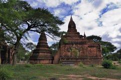 Tempel von Bagan Myanmar Lizenzfreies Stockfoto