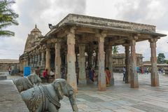Tempel von belur Lizenzfreie Stockfotos