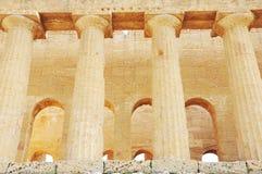 Tempel von Concordia. stockfoto