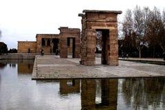 Tempel von Debod, Madrid Stockbilder