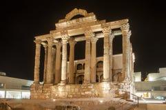 Tempel von Diana Stockfoto