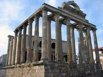 Tempel von Diana in Mérida Lizenzfreies Stockbild