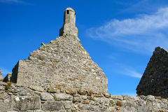 Tempel von Dowling, Clonmacnoise, Irland Lizenzfreies Stockfoto