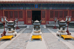 Tempel von Erde Stockfotografie