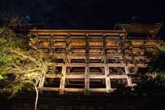 Tempel von hölzernen Strukturen Stockbild