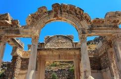Tempel von Hadrian Lizenzfreie Stockbilder