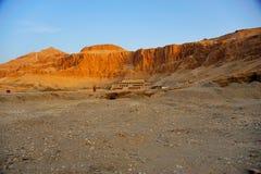 Tempel von Hatschepsut, Thebes Stockfotografie