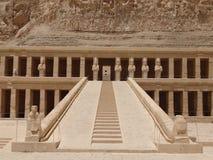 Tempel von Hatshepsut, Luxor Lizenzfreie Stockbilder