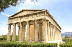 Tempel von Hephaestus Stockbild