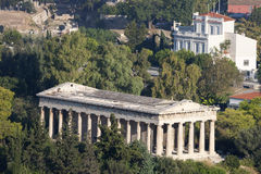 Tempel von Hephaestus Lizenzfreies Stockbild