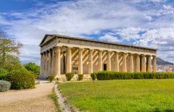 Tempel von Hephaestus, Athen, Griechenland Lizenzfreie Stockfotografie