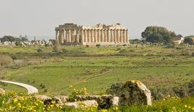 Tempel von Hera Lizenzfreie Stockfotos