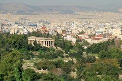 Tempel von Hermes lizenzfreie stockfotografie