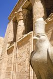 Tempel von Horus bei Edfu Lizenzfreie Stockbilder