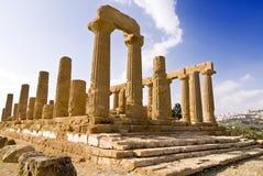 Tempel von Juno Lizenzfreie Stockfotos
