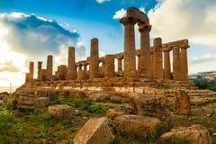 Tempel von Juno Lizenzfreies Stockfoto