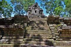 Tempel von Kambodscha stockbild