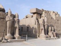 Tempel von Karnak, Ägypten lizenzfreie stockfotografie