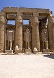 Tempel von Luxor Stockfoto