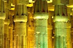 Tempel von Luxor Stockfotos