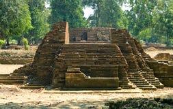 Tempel von Muara Jambi. lizenzfreie stockbilder