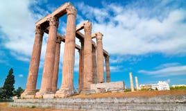 Tempel von olympischem Zeus Stockbild