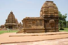 Tempel von Pattadakal in Indien Stockfotografie